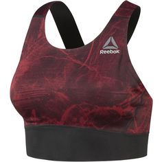 Reebok Combat Smoothgrip Fight Sports Bra (€58) ❤ liked on Polyvore featuring activewear, sports bras, racer back sports bra, reebok sportswear, racerback slip, reebok activewear and reebok