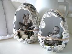 't Scrap Ateljeetje: Vintage Easter Eggs