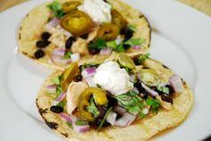 Crock Pot Chicken Verde Tacos Recipe