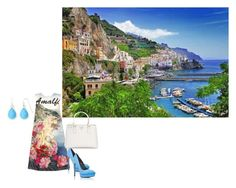 """""""Amalfi Style"""" by chris-love97 ❤ liked on Polyvore featuring Dolce&Gabbana, Yves Saint Laurent, Prada and Liz Claiborne"""