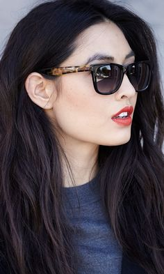 Chic Sunglasses // love the shape