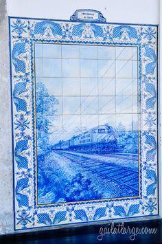 azulejos @ Ovar Railway Station, Portugal (12)