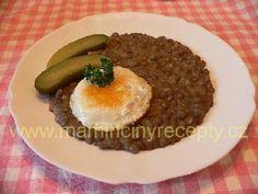 Čočka na kyselo Eggs, Pudding, Breakfast, Desserts, Food, Morning Coffee, Meal, Egg, Custard Pudding