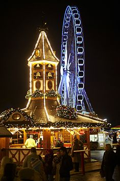 Hyde Park Winter Wonderland. I've been there on 2010. AMAZING <3