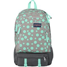 JanSport Envoy Backpack ($65) ❤ liked on Polyvore featuring bags, backpacks, grey, school & day hiking backpacks, backpack laptop bag, grey backpack, jansport bags, jansport daypack and jansport