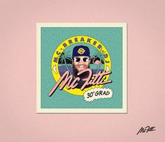 MC Fitti »30° Grad« Single Artwork on Behance