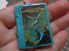 A Wrinkle in Time Book Necklace Book Pendant Literary by laminartz