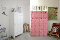 DECORAÇÃO: Lockers / Armário Colegial - Como usar na decoração