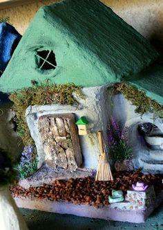 Bella Crete Square fairy house