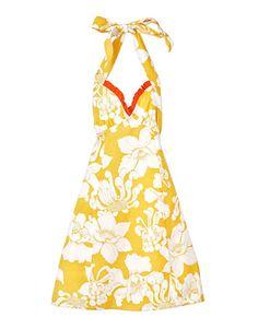 $32.00  apron  Luxe keukenschort in prachtig geel.