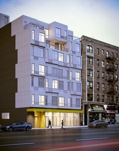 Construction Begins on NYC's First Prefab Steel and Concrete Residential Development