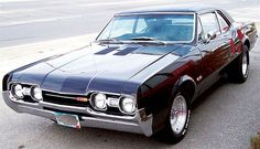 1966 oldsmobile cutlass supreme  | Vehicles that 'Drove' Fleet History - Articles - Vehicle Research ...69