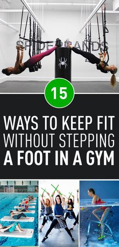 If the traditional fitness routines have run their course for you, take a look at some of the more unusual workouts that are inviting people to have some fun while breaking a sweat!