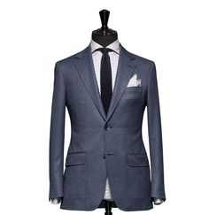 Modern Bespoke Tailoring – Modern Men's Tailoring in London using Body Scanning Jacket Dress, Suit Jacket, Custom Made Suits, Suit Fabric, Suit Shop, Bespoke Tailoring, Grey Outfit, Tailored Suits, Mens Outfitters
