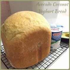 Avocado Coconut Yoghurt Bread