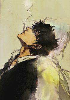 Matsuda Dc Police, Police Story, Detective Conan Wallpapers, Magic Kaito, Case Closed, Cool Drawings, Amon, Fan Art, Cartoon