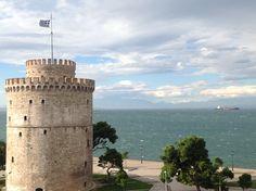 Windy day in Thessaloniki