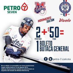 Hoy recarga combustible en las mas de 80 estaciones de @Petro7Gas y vente a ver a Los Sultanes en la serie vs Diablos