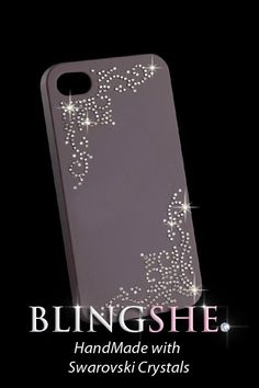Items similar to Bling Bling  Phone Case hand made with Swarovski crystals for iPhone 4 / 4S  iPhone 3GS / Galaxy S2 / Other Phones (Frame Clear) on Etsy