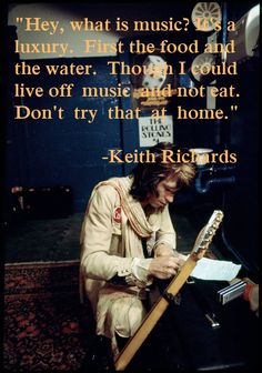 Keith Richards Quote 08