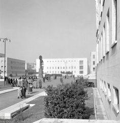 La Sapienza - Willem van de Poll - 1937 Bed And Breakfast, Old Photos, Habitats, Street View, Architecture, Building, Nature, Bauhaus, Landscapes