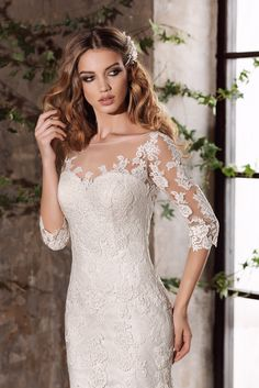 Nora Naviano 15358, свадебное платье Nora Naviano, wedding dress, невесты 2017, свадебное платье, bride, wedding, bridesmaid dress, prospective bride, best bride, Silhouette Wedding Dress