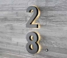 LED illuminated house numbers, Light up house numbers, backlit house numbers, LED house numbers, Helvetica House Numbers Illuminated House Numbers, House Number Plates, Solar House Numbers, Metal House Numbers, House Numbers Modern, House Number Signs, Rustic House Numbers, Large House Numbers, Door Number Sign