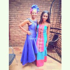 Sepedi African Bridesmaid Dresses, African Print Dresses, African Dress, African Prints, African Attire, African Wear, African Outfits, Traditional Wedding Dresses, Traditional Outfits