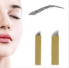Health & Beauty Trustful Microblading Needles Yuelong 50pcs Permanent Makeup Manual Eyebrow Tattoo Need Tattoos & Body Art