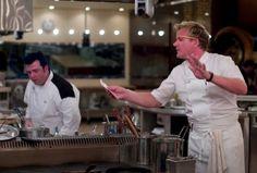 Gordon Ramsay on Hells Kitchen