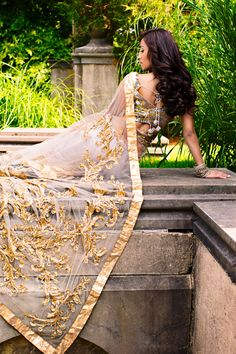 Styled Shoot featuring Charisma Designer Studio and R.A.G.artistry/@@@@@.....http://www.pinterest.com/abir1999/indian-brides/