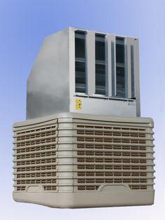 Questi raffrescatori adiabatici sono progettati per il raffrescamento di aree fino a 250 mq