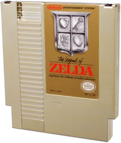 The Legend of Zelda (NES)  My mom had maps of this game!