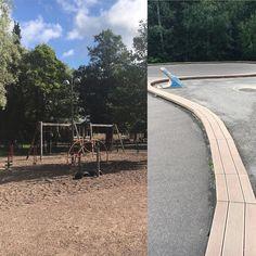 """Huonomuistisen äidin ja kahden leikkipuistoja rakastavan lapsen muistilista leikkipuistoista osa 1 #leikkipuistokiertue #vähätupa  Osoite: vähätuvantie 4 Hki (Konala)  Pieni leikkipuisto jossa muutama leikkiteline kiipeilyteline ja aidalla rajattu pienten alue. Paljon asfalttikenttää pallo- ja ajeluleikeille. Metsäinen suojainen sijainti.  Suosikki: asfalttialuetta reunustava """"rata"""" jossa voi leikkiä junaradalla puksuttavaa höyryveturia.  Kommentti 5-v: """"Tää leikkipuisto on liian pieni""""…"""