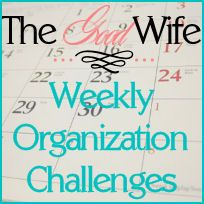 Weekly Organization Challenges: 52 weeks to get your s together
