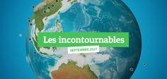 Les #UI #UX incontournables d'octobre 2017 | Webdesigner Trends