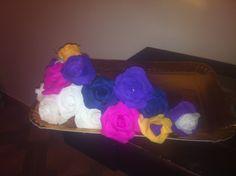 Trandafiri handmade!!