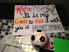 Soccer Ball Homecoming Ideas