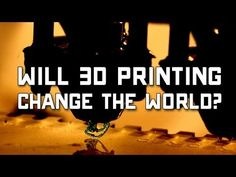Much attention has been paid to 3D Printing lately, with new companies developing cheaper and more efficient consumer models that have wowed the tech community. They herald 3D Printing as a revolutionary and disruptive technology, but how will these printers truly affect our society?