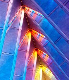 """Rainbow Ceiling"" Photograph by Marilyn Baldi 16 x 20 (2014)"