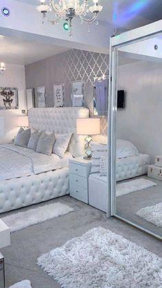 Room Design Bedroom, Girl Bedroom Designs, Room Ideas Bedroom, Home Room Design, Bedroom Themes, House Design, Beauty Room Decor, Makeup Room Decor, Bedroom Decor For Teen Girls