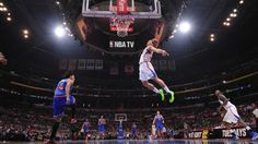 A Baselines-Eye View Of Blake Griffin Dunking All Over The Knicks