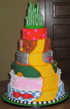 i want a wizard of oz cake. what the heck! Pretty Cakes, Cute Cakes, Beautiful Cakes, Amazing Cakes, Do It Yourself Inspiration, Cake Wrecks, Gateaux Cake, Baby Shower, Creative Cakes