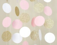 Woodland animals paper garland/baby shower by PaperMyLife on Etsy