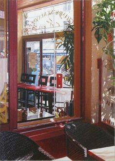 Cafe Epernay Daal, Liquor Cabinet, Painting, Furniture, Home Decor, Decoration Home, Painting Art, Home Furnishings, Paintings