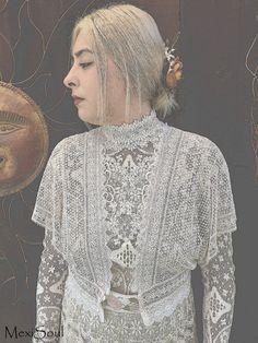REDUCED, Edwardian Inspired Bridal Top, OOAK, Alternative Bridal Wear