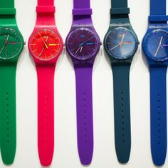 I want to have some of these watches!!