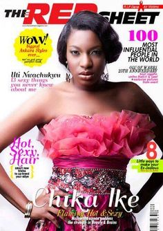 Chioma Akpotha and Chike Ike make cover of Red Sheet Magazine