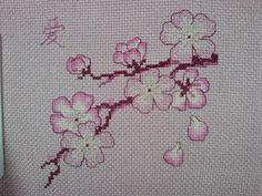 Blackwork Cherry Blossoms | In Stitches
