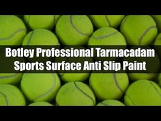 #tennis Botley Professional Tarmacadam Sports Surface Anti Slip Paint - YouTube